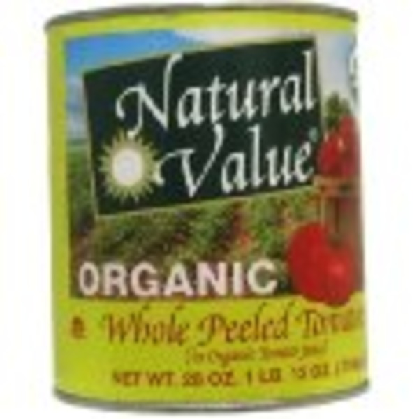 Natural Value Whole Peeled Tomatoes