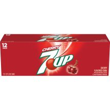 7UP Cherry, 12 fl oz, 12 pack