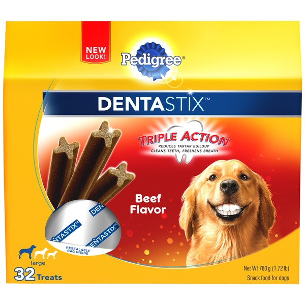 Pedigree Dentastix Daily Oral Care Large Beef Flavor Dog Care & Treats