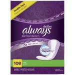 Always Xtra Protection Daily Liners, Long 108 Count