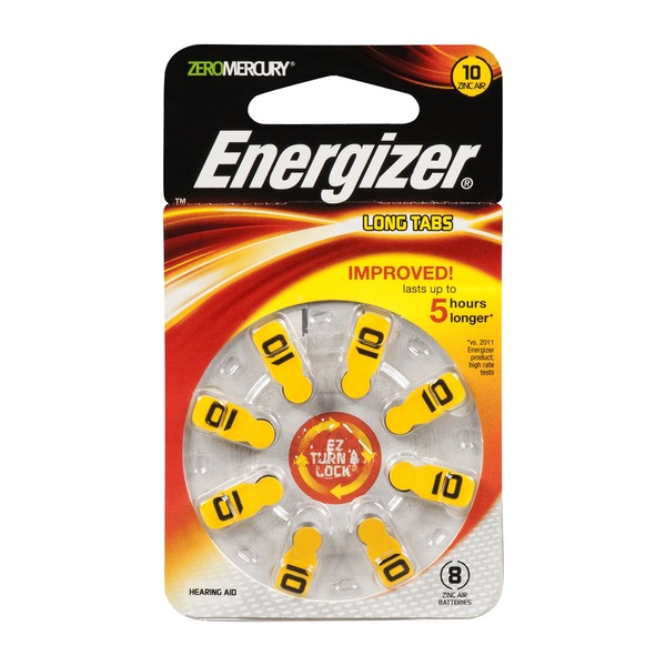 Energizer EZ Turn & Lock AZ10DP - 8 CT