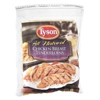 Tyson Frozen Uncooked Chicken Breast Tenderloins