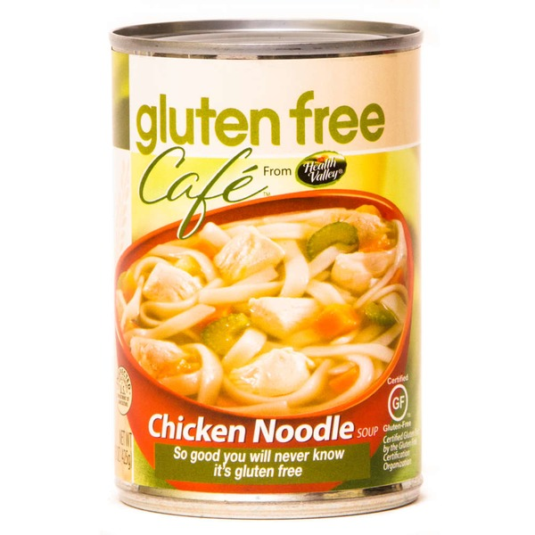Health Valley Gluten Free Cafe Chicken Noodle Soup