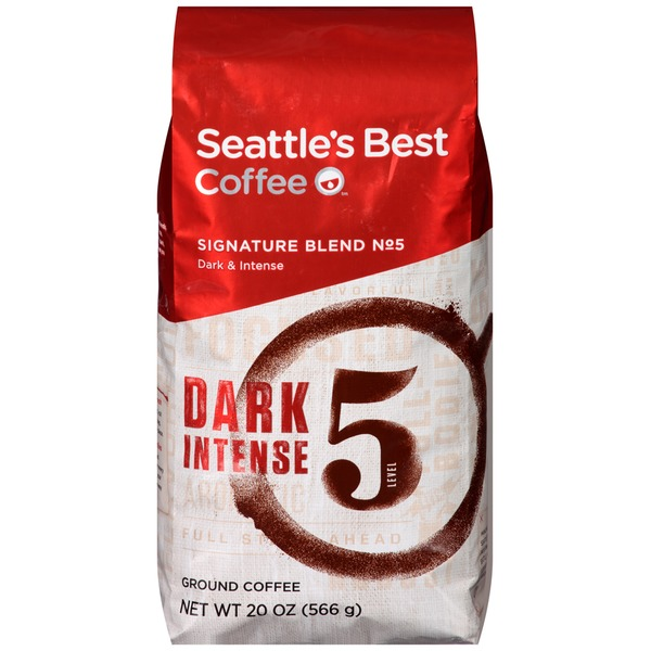 Seattle's Best Coffee Signature Blend No. 5 Dark/Intense  Ground Coffee