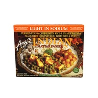 Amy's Amy Indian Mattar Paneer Light In Sodium