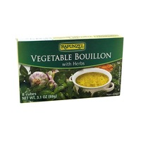 Rapunzel Vegan Vegetable Bouillon With Sea Salt & Herbs
