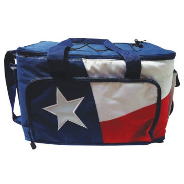 Outdoor Solutions Texas Flag 24 Can Cooler