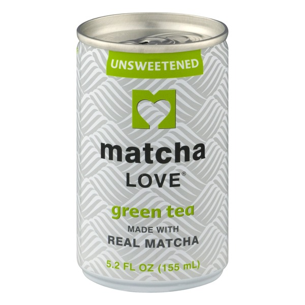 Matcha Love Green Tea made with Real Matcha Unsweetened