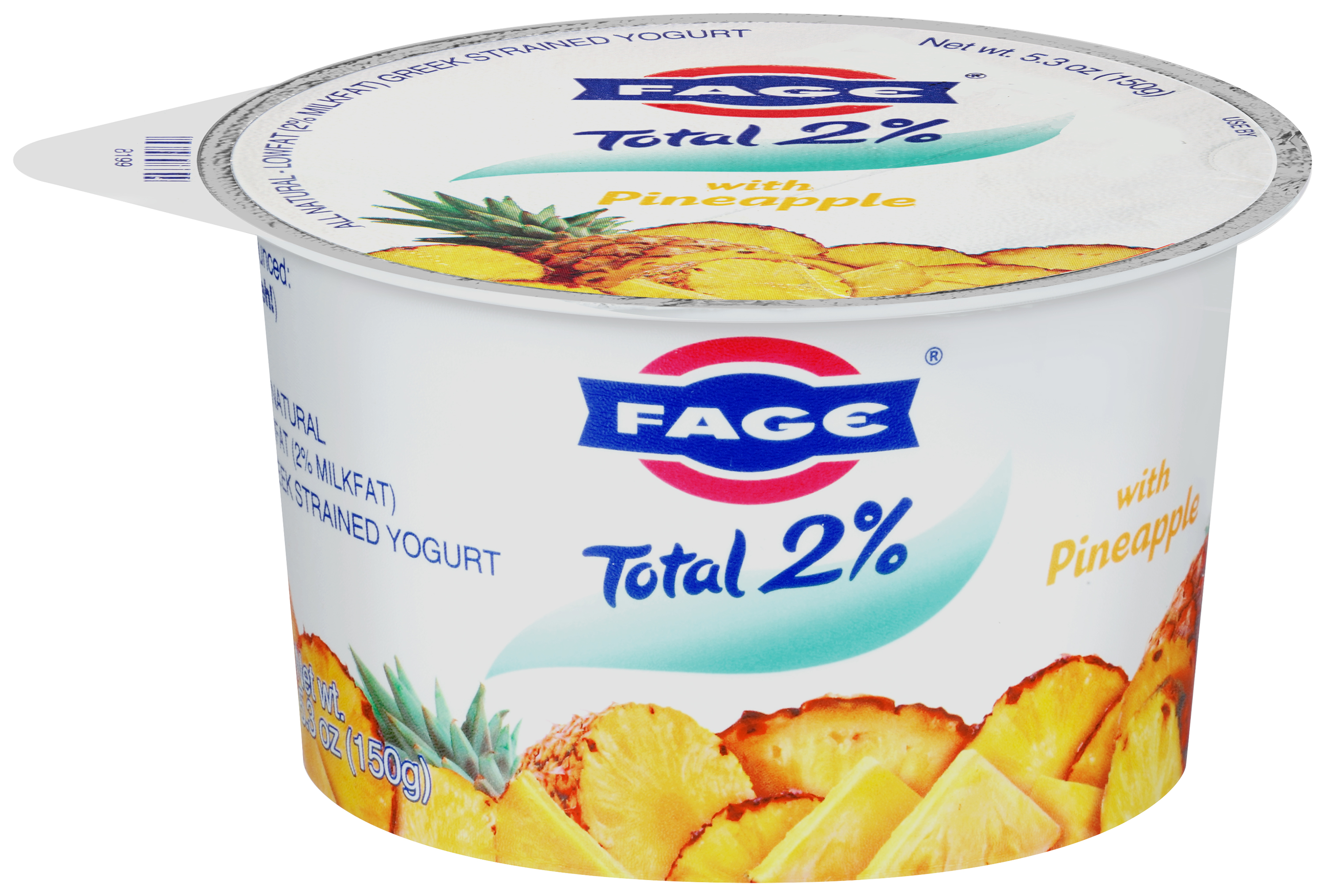 Fage Total 2% Lowfat Greek Strained Yogurt with Pineapple