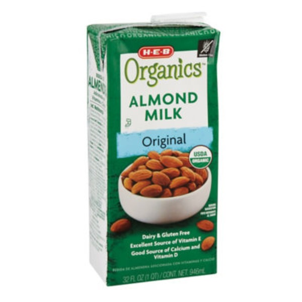 H-E-B Organic Original Almond Milk