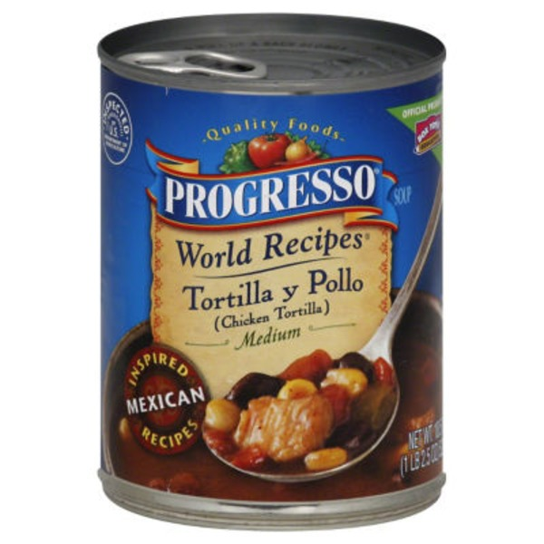 Progresso Traditional Chicken Tortilla Soup
