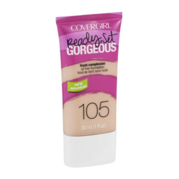 CoverGirl Ready Set Gorgeous COVERGIRL Ready, Set Gorgeous Foundation, Classic Ivory 1 fl oz (30 ml) Female Cosmetics
