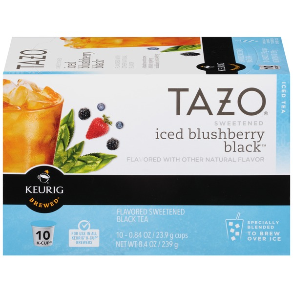 Tazo Tea Iced Blushberry Black 8.4 oz Black Tea K-Cup