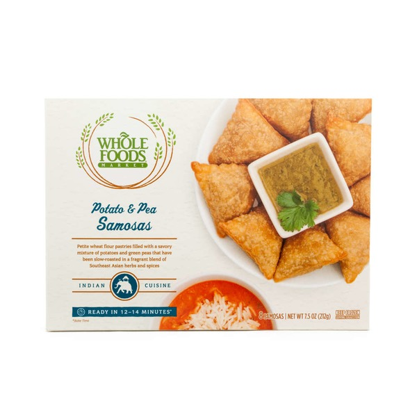 Whole Foods Market Potato & Pea Samosas
