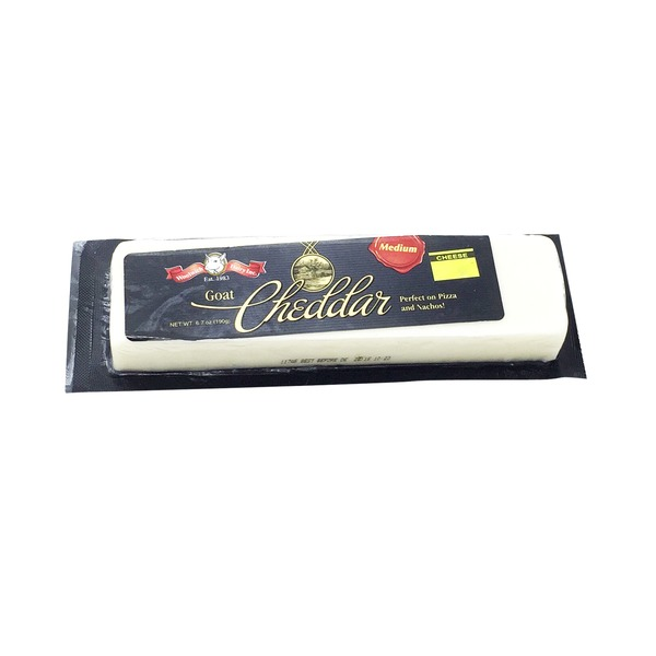 Woolwich Dairy Inc. Goat Cheddar Cheese