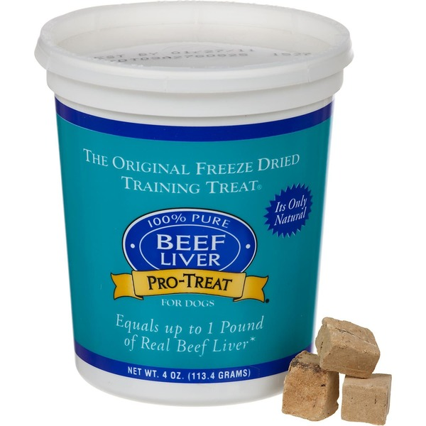 Gimborn Pro-Treat Freeze Dried Beef Liver Treats For Dogs