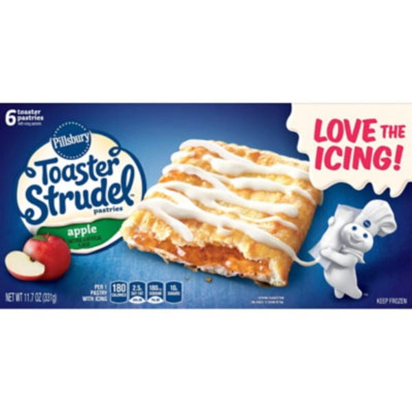 Pillsbury Toaster Strudel Apple Toaster Pastries