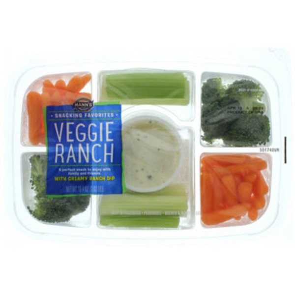 Mann's Snacking Favorites Vegetable Ranch Tray