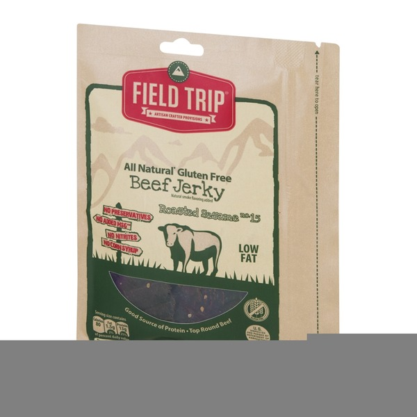 Field Trip All Natural Gluten Free Beef Jerky Roasted Sesame no. 15