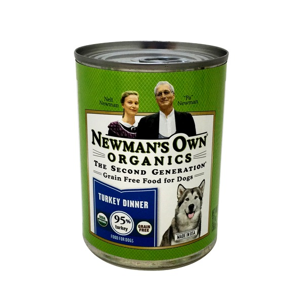 Newman's Own Grain Free Turkey Dinner Food For Dogs