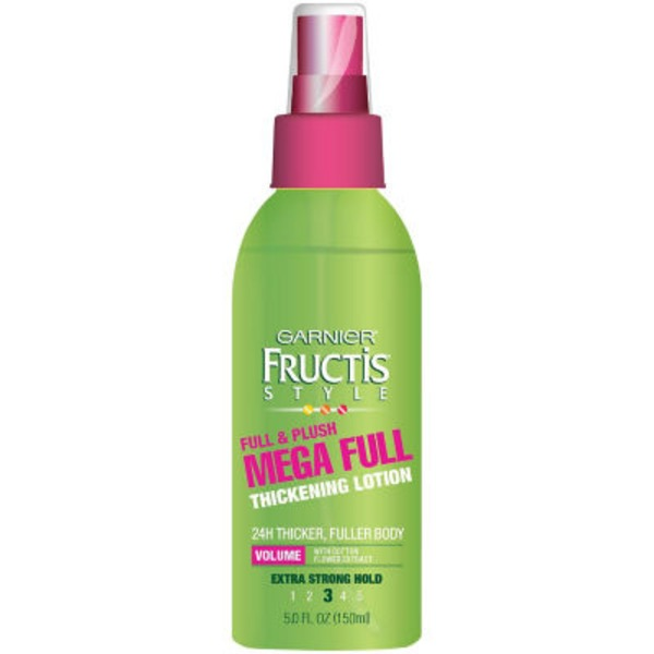 Fructis Style® For Visibly Fuller, Thicker Hair Full & Plush Mega Full Thickening Lotion