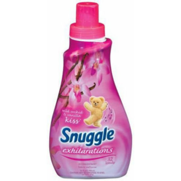 Snuggle Exhilarations Concentrated Wild Orchid & Vanilla 32 Loads Liquid Fabric Softener