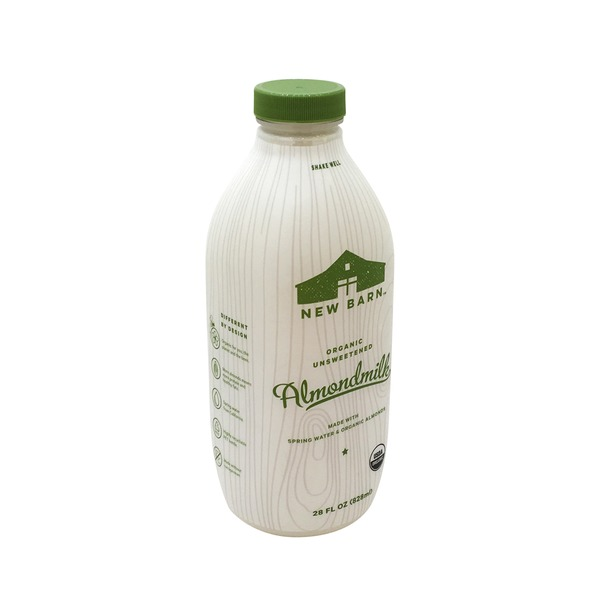 New Barn Organic Unsweetened Almond Milk