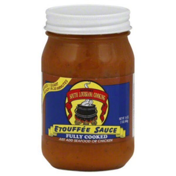 South Louisiana Cooking Fully Cooked Etouffee Sauce