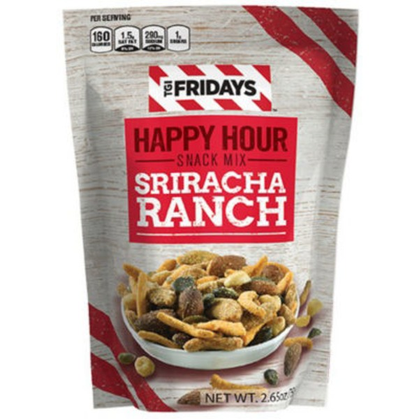 TGI Fridays Snack Mix Happy Hour Sriracha