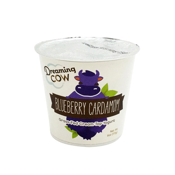 Dreaming Cow Grass-Fed Yogurt Blueberry Cardamom