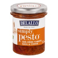 DeLallo Simply Pesto Sun-Dried Tomato, Basil & Cheese