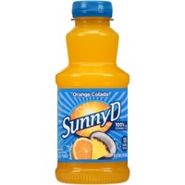 Sunny D Orange Colada Citrus Punch