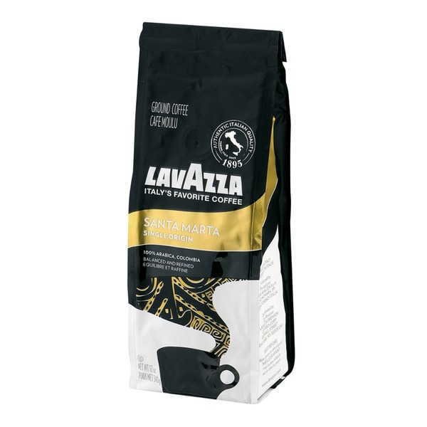 LavAzza Italy's Favorite Coffee Santa Marta 100% Arabica, Colombia Ground Coffee