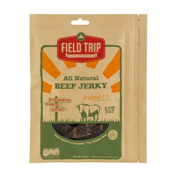 Field Trip All Natural Beef Jerky
