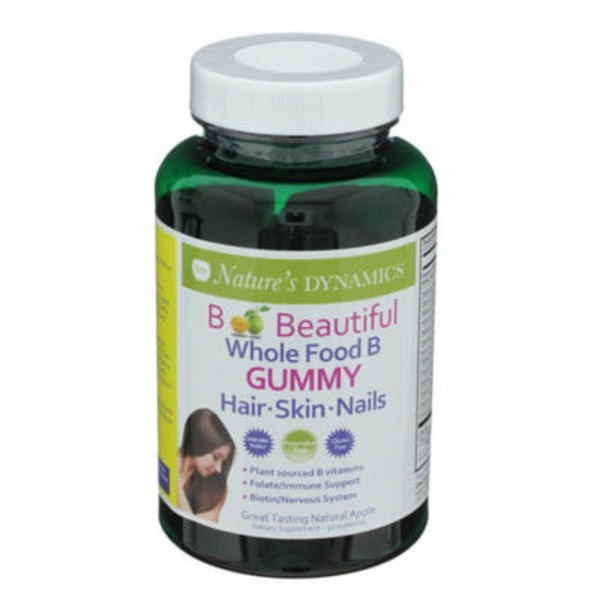 Nature's Dynamics B Beautiful Gummies For Hair, Skin, Nails