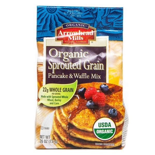 Arrowhead Mills Organic Sprouted Grain Pancake & Waffle Mix