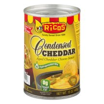 Ricos Condensed Cheddar Aged Cheese Sauce, 15.0 OZ