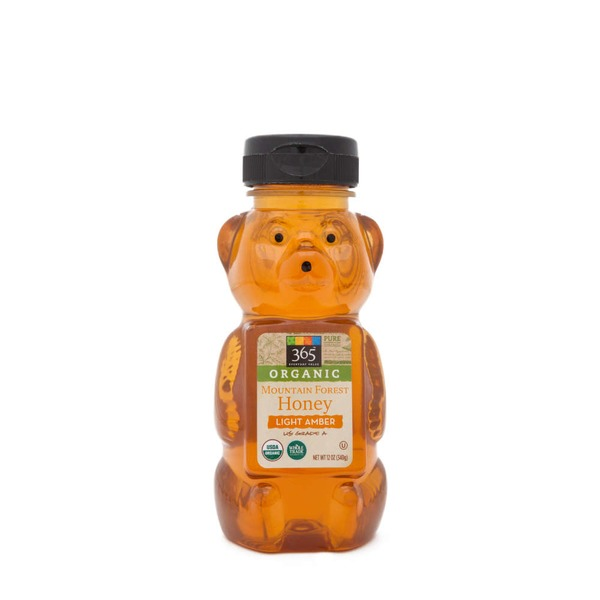 365 Organic Mountain Forest Light Amber Honey