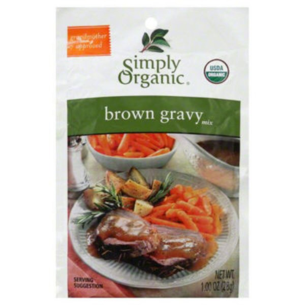 Simply Organic Certified Organic Brown Gravy Seasoning Mix