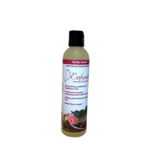 Enfusia Blends For Body Vegan Rose Body Wash