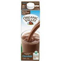 Organic Valley 32 oz UHT Reduced Fat Chocolate Milk