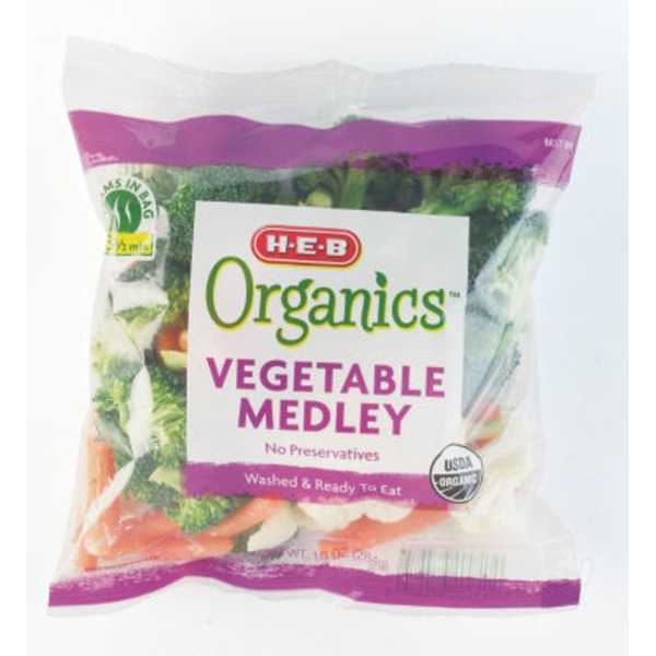 H-E-B Organic Vegetable Medley