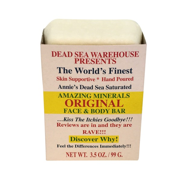 Dead Sea Warehouse Mineral Salt Soap Bar