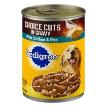 Pedigree Choice Cuts in Gravy With Chicken & Rice Wet Dog Food, 13.2 Oz.