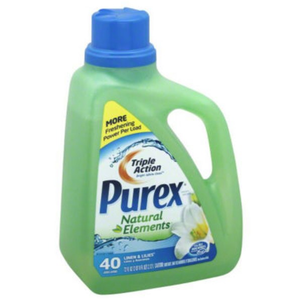 Purex Liquid Detergents Dirt Lift Action Natural Elements Linen & Lilies Laundry Detergent