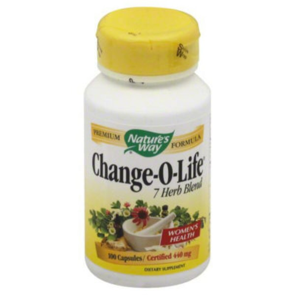 Nature's Way Change-O-Life 7 Herb Blend, Certified 440 mg, Capsules