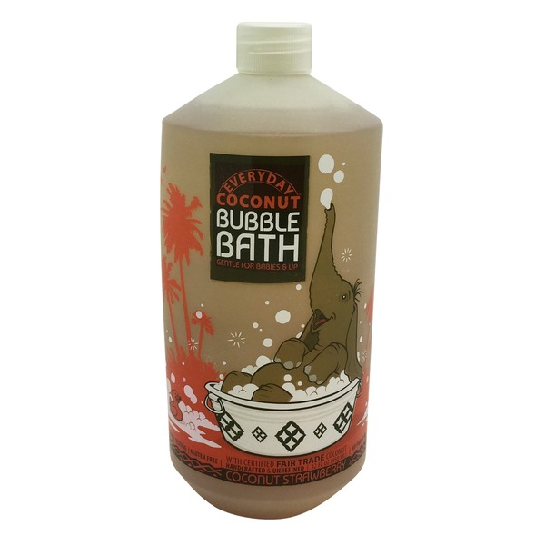 Everyday Coconut Babies And Up Coconut Strawberry Bubble Bath