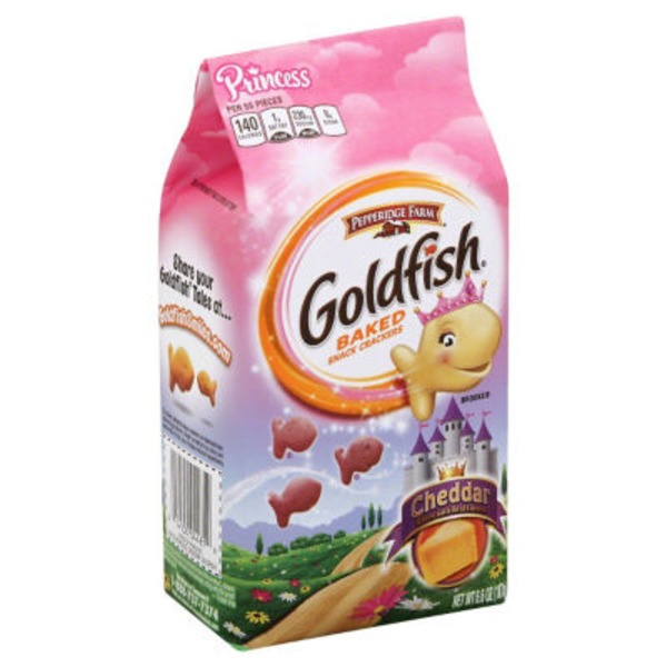 Pepperidge Farm Goldfish Goldfish Cheddar Baked Snack Crackers
