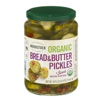 Woodstock Farms Organic Bread & Butter Pickles