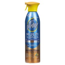 Pledge Multi Surface Antibacterial Everyday Cleaner 9.7 Ounces.